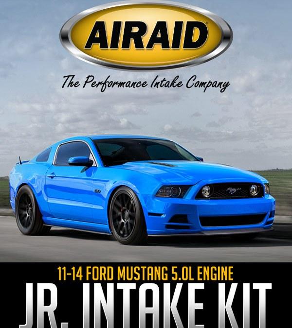 AIRAID JR. INTAKE KIT: 2011-14 FORD MUSTANG 5.0L ENGINE