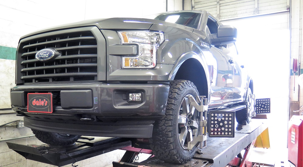 New Ford F-150 in for a TRUXXX Leveling Kit