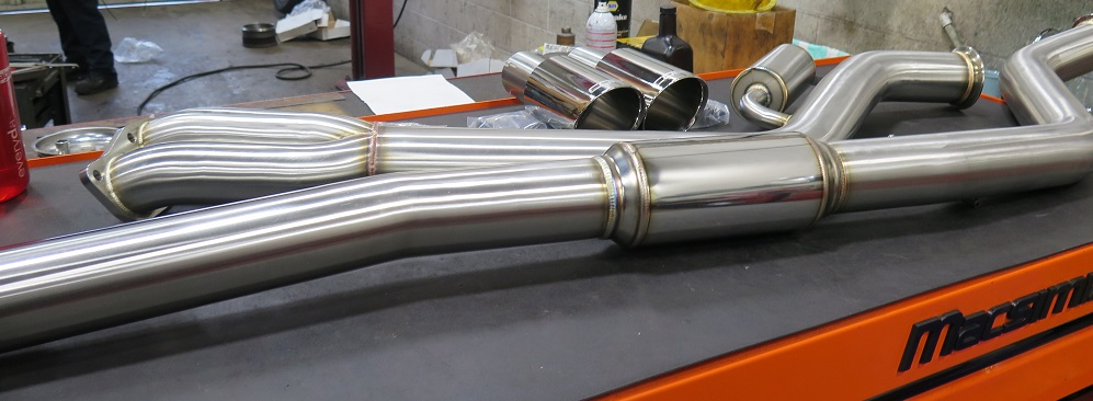 Dales Motorsport- BMW in for a COBB Exhaust