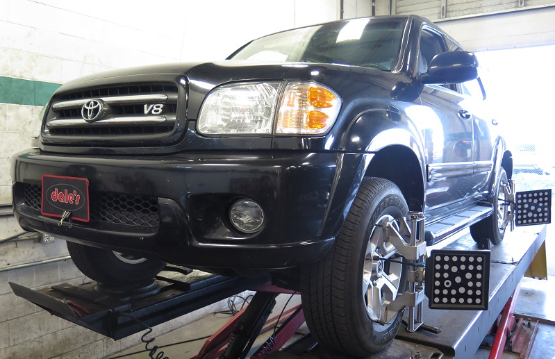 """Toyota Sequoia in for 2.5"""" Leveling Kit"""