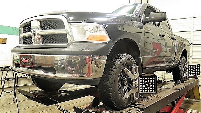 Ram1500 in for Bilstein 5100 Leveling Struts and Rear Coilspring Spacers