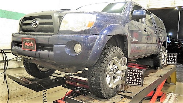 Toyota Tacoma in for Bilstein 5100 Leveling Struts and Rear Shocks