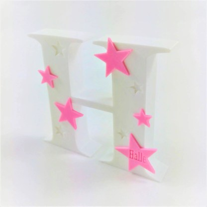 Personalised free standing letters