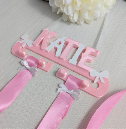 Personalised Hair Clip Organiser / Hair Band Tidy, Hair Accessories Holder 1