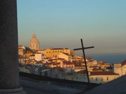 A view from Alfama, Lisbon.