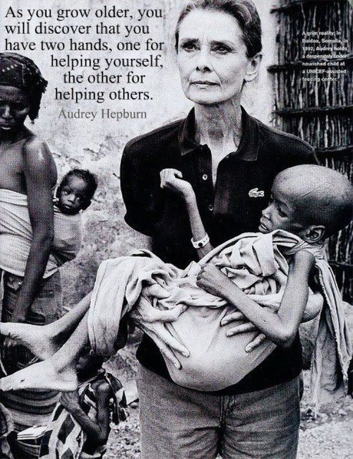 Audrey - helping others