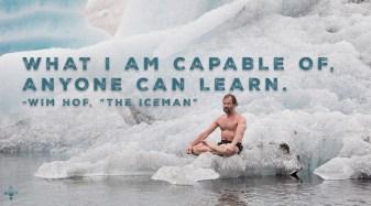 Wim Hof Iceman-Quote