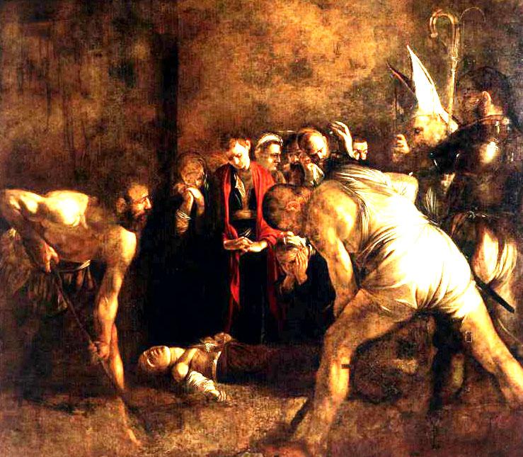 Caravaggio a Siracusa. il Seppellimento di Santa Lucia   di Francesco Pecoraro