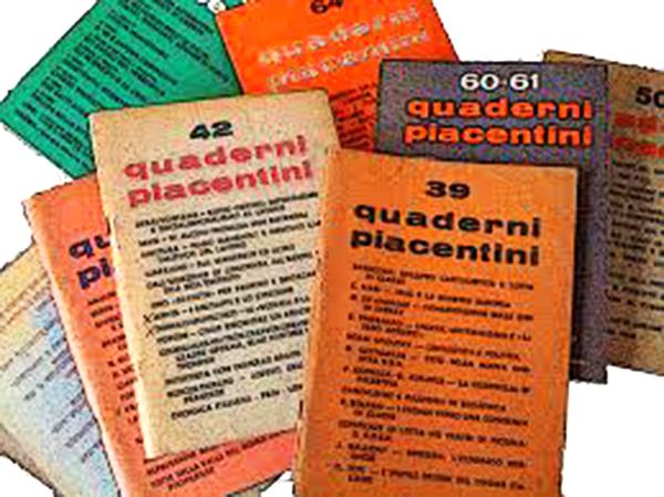 """I """"Quaderni piacentini""""    di Giuseppe Muraca"""