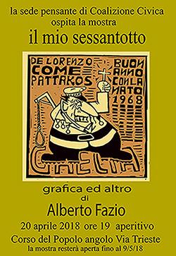 Un salto indietro, a cinquant'anni dal '68   di Alberto Fazio