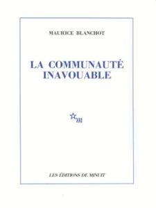 Critica del movimento (dicembre 1968)   di Maurice Blanchot, Les Lettres nouvelles