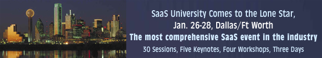 Softletter's SaaS University comes to Dallas/Ft. Worth, Jan 26-28