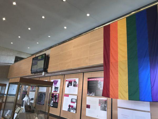 Pride Month exhibit on display at Dallas City Hall