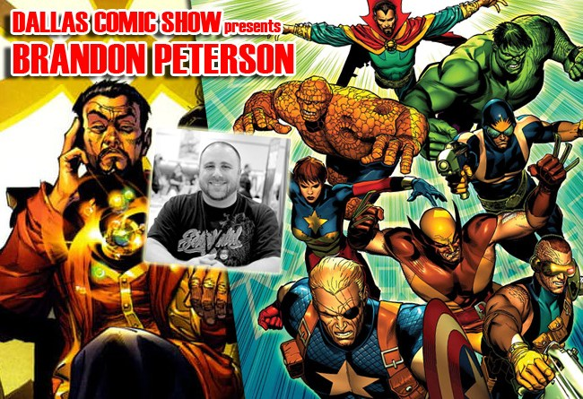 AGE OF ULTRON and UNCANNY INHUMANS artist Brandon Peterson comes to DCS