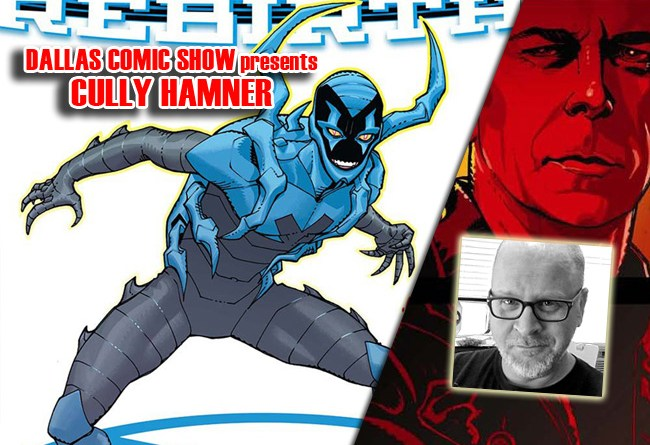 BLUE BEETLE artist and RED co-creator Cully Hamner comes to DCS Feb 11-12
