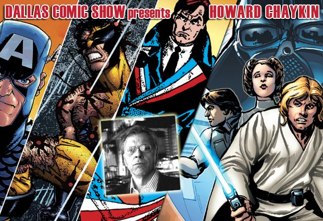 Legendary STAR WARS and AMERICAN FLAGG artist Howard Chaykin comes to DCS Feb 11-12!