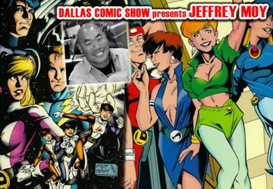 LEGIONNAIRES and LEGION OF SUPER-HEROES artist Jeffrey Moy comes to DCS Feb 11-12