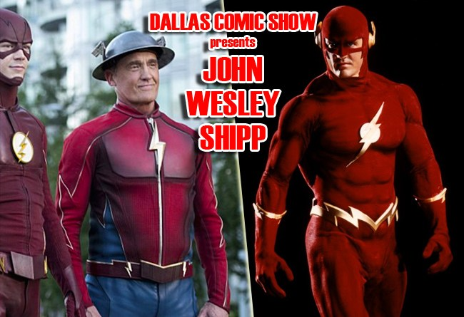 THE FLASH star John Wesley Shipp comes to Dallas Comic Show this Feb 11-12!