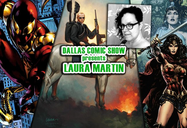 WONDER WOMAN and STAR WARS colorist Laura Martin comes to DCS Feb 11-12