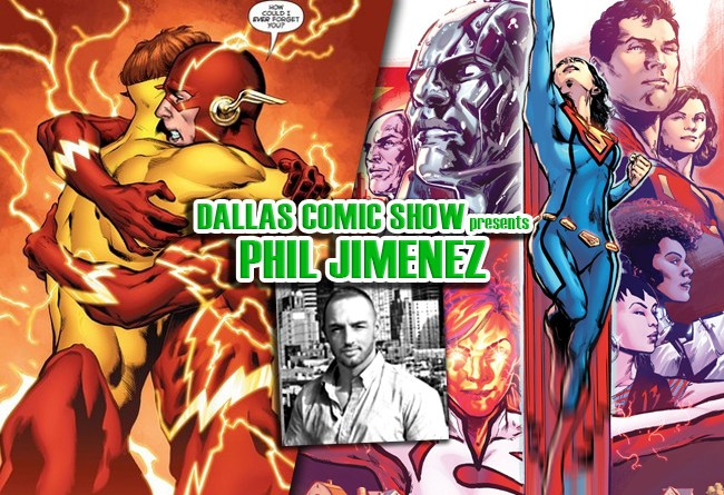 SUPERWOMAN and DC REBIRTH artist Phil Jimenez comes to DCS Feb 11-12