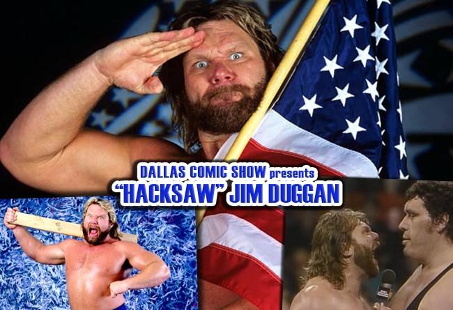 "The King of the WWF – ""Hacksaw"" Jim Duggan comes to DCS Feb 11-12"