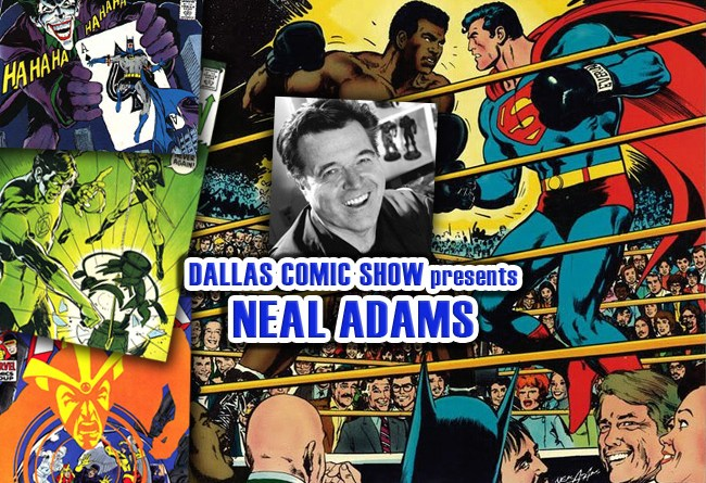 Legendary BATMAN and SUPERMAN artist Neal Adams comes to DCS Feb 11-12