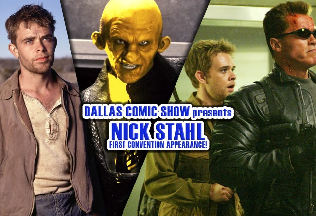 SIN CITY, T3 and CARNIVALE star Nick Stahl makes FIRST convention appearance at DCS Feb 11-12
