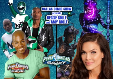 POWER RANGERS LOST GALAXY stars Reggie Rolle & Amy Rolle come to DCS Feb 11-12