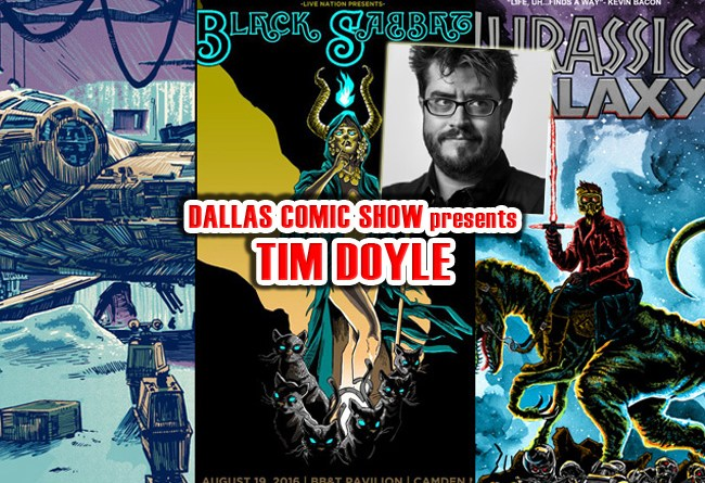 NAKATOMI INC print artist extraordinaire Tim Doyle comes to DCS Feb 11-12