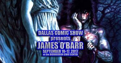 THE CROW creator/artist James O'Barr returns to DCS September 16-17