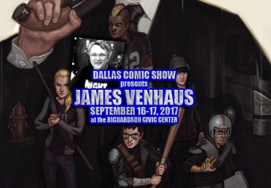 NIGHT OWL SOCIETY writer James Venhaus comes to DCS September 16-17