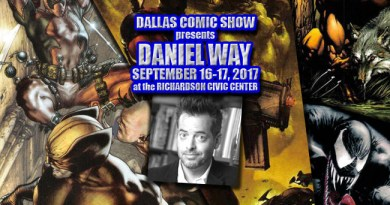 DEADPOOL and WOLVERINE: ORIGINS writer Daniel Way comes to DCS Sept 16-17