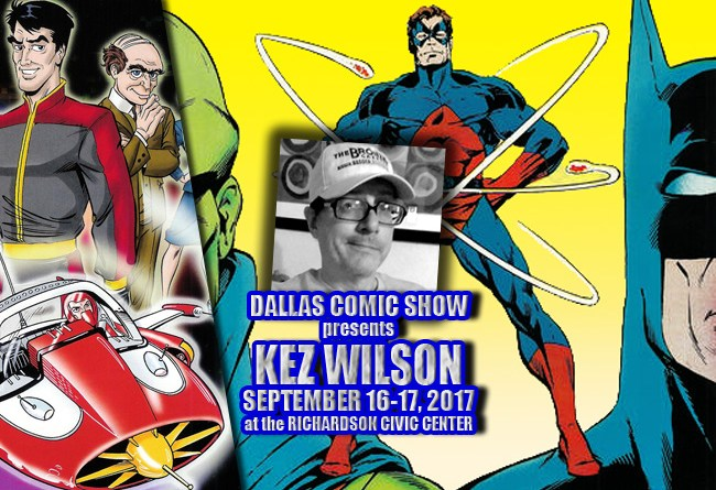 STAR TREK and POWER OF THE ATOM artist/inker Kez Wilson joins DCS Sept 16-17