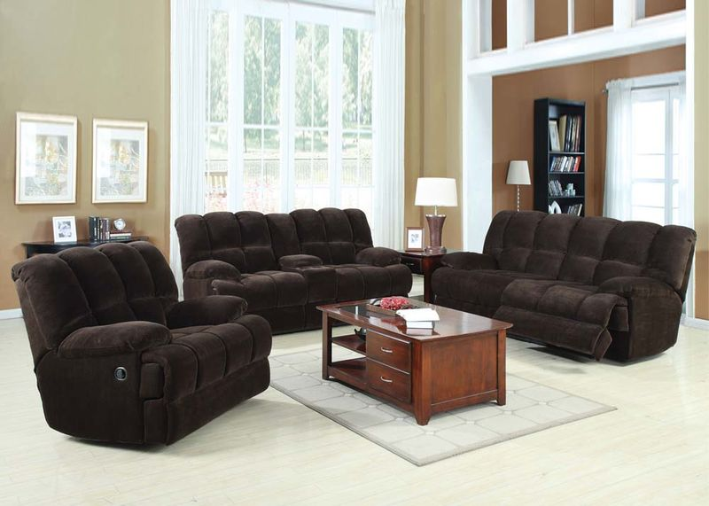 recliner living room set leopard chairs acme 50475 ahearn reclining dallas designer