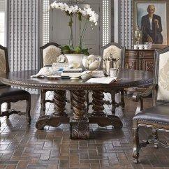 Round Living Room Set Lime Green Accessories For Ambella 17501 600 086 Castilian 86 Dining Dallas Designer Furniture