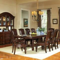 Living Room Furniture Dallas Tx Best Wall Design For Steve Silver Ay200 Antoinette Formal Dining Set With Large Pedestal Table