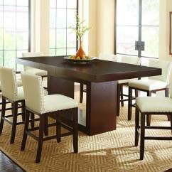 Finance Living Room Set Decorating With Brown Furniture Steve Silver |at700 Antonio Ii Counter Height Table ...