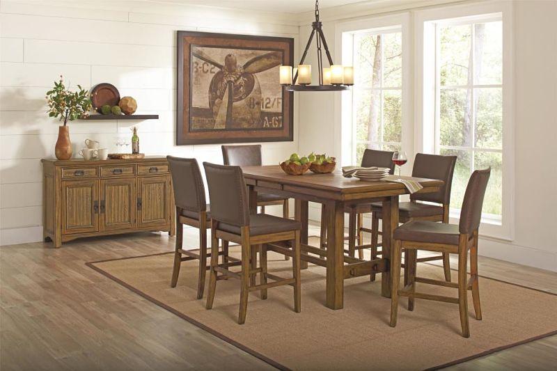 Dallas Designer Furniture Andrea Formal Dining Room Set