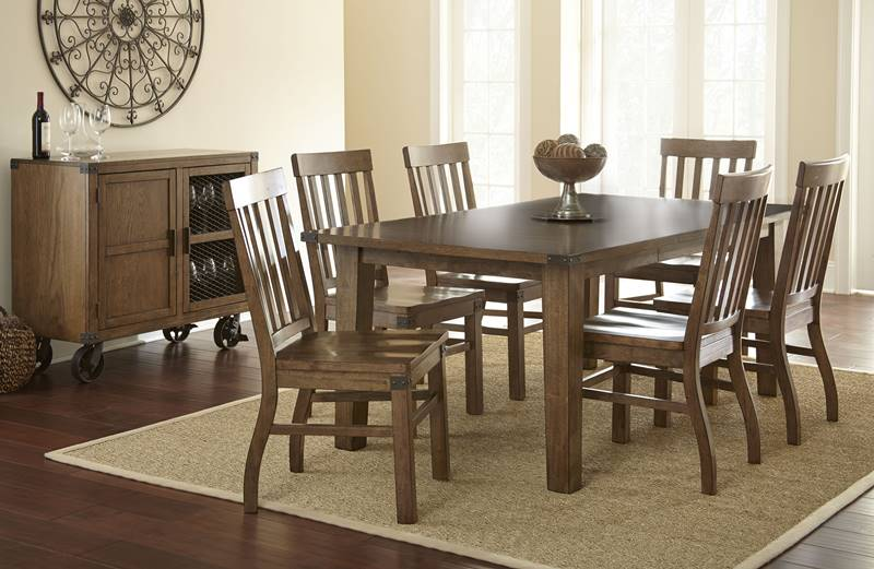Dallas Designer Furniture Alyssa Formal Dining Room Set