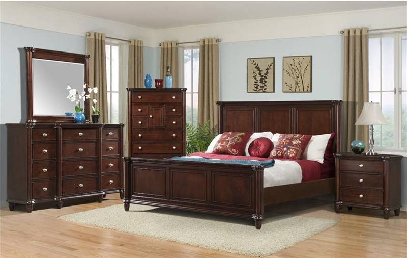 Elements  HM100 Hamilton Bedroom Set  Dallas Designer Furniture