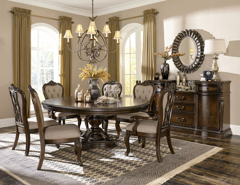 Homelegance  193576 Bonaventure Park Formal Dining Room