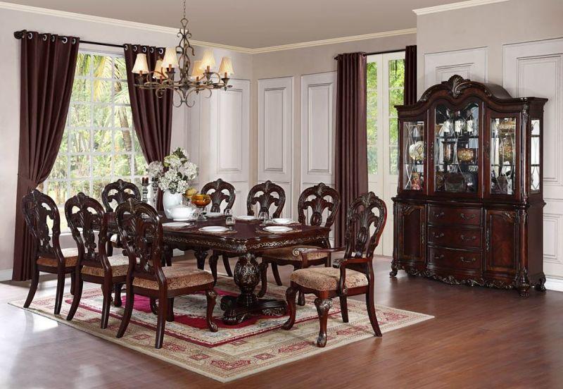 Homelegance  2243114 Deryn Park Formal Dining Room Set with Rectangular Table  Dallas