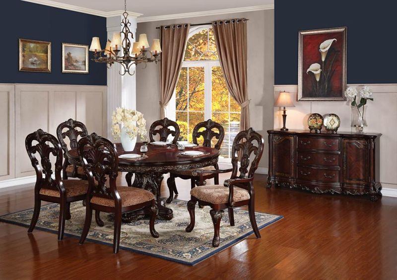 Homelegance  224376 Deryn Park Formal Dining Room Set
