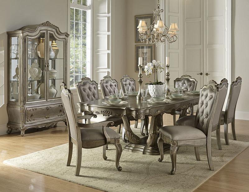 formal living room set ideas small apartment homelegance 1867 102 florentina dining dallas