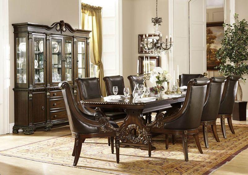 Dallas Designer Furniture  Orleans Formal Dining Room Set