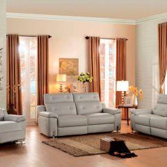 Reclining Leather Living Room Furniture Sets Design Ideas 2016 Homelegance 8300 Pw Vortex Set