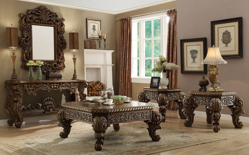 Every item on this page was curated by an elle decor editor. Homey Design | HD-1609 El Dorado II Formal Living Room Set ...