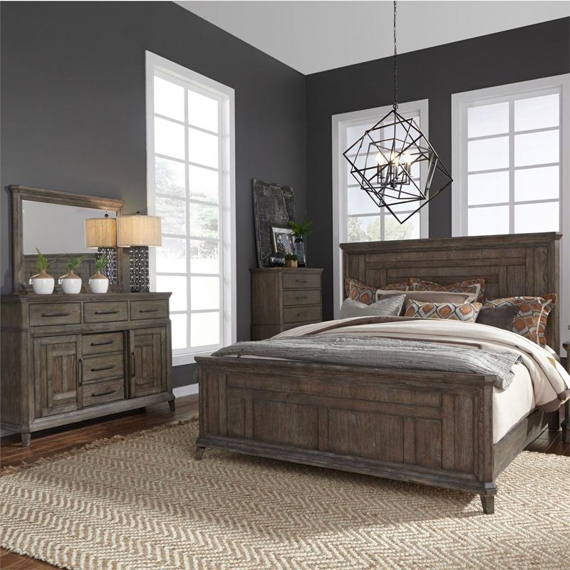 liberty 823 br artisan prairie bedroom set dallas designer furniture