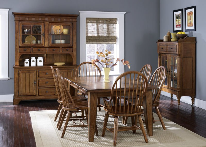 Dallas Designer Furniture Chateau De Ville Formal Dining Room Set In Cherry