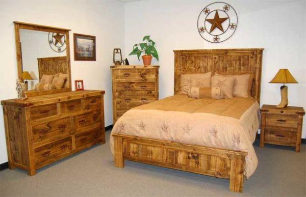 rustic wood bedroom furniture Dallas Designer Furniture | Rustic Furniture Page 2